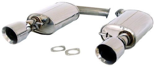 Tanabe T70095A Medalion Touring Axle-Back Dual Muffler Exhaust System for Lexus SC300/400 1992-2000 ()