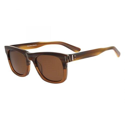 Amazon.com: anteojos de sol CALVIN KLEIN ck8501sp 205 marrón ...