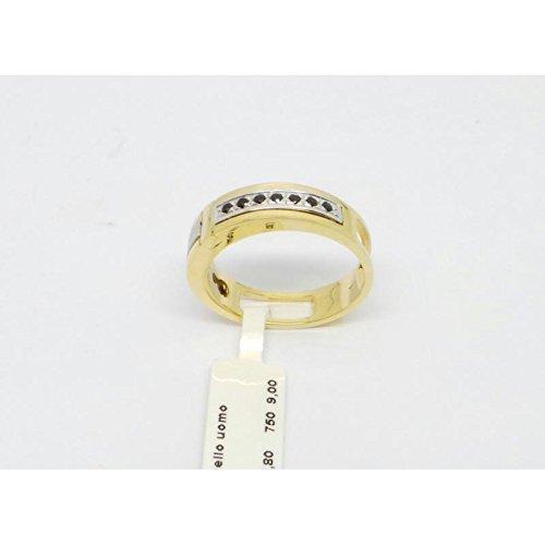 Bague classiques tout or homme an469634or jaune zirconium