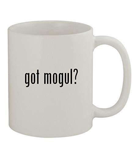 got mogul? - 11oz Sturdy Ceramic Coffee Cup Mug, White