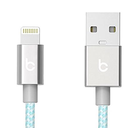 Amazon.com: belaycords Conector Lightning con USB para Apple ...