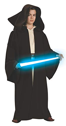 Rubies Star Wars Classic Child's Super Deluxe Jedi Robe, -