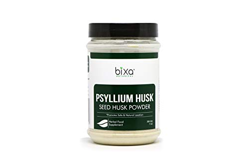 PSYLLIUM Husk Powder (PLANTAGO OVATA) – 200g (7 Oz) Daily Laxative Fibre | Natural Dietary Supplement, maintains Gut (Intestinal) Motility & eliminates Toxic Waste. Natural Safe Laxative with Fibres