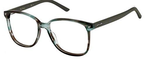 Pierre Cardin Glasses Men PC 6146 R5Z Green Striped Full ...