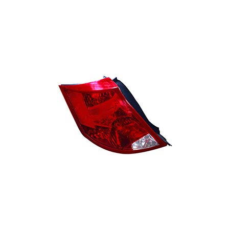 Fits 2003-2007 Saturn ION Rear Tail Light Driver Side Unit GM2800163 4dr For Sedan; w/o bulb - replaces 22723024