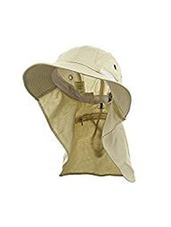 fde2d5fd90c Adam s Headwear Extreme Condition Hat - UPF 45+ Stone  Amazon.in ...