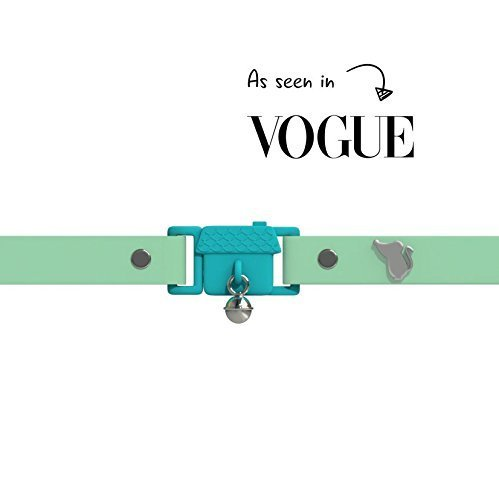 Kittyrama Meadow Cat Collar. Award Winning. As Seen in British Vogue. Other Styles and Colors Available. For Adult Cats by Kittyrama