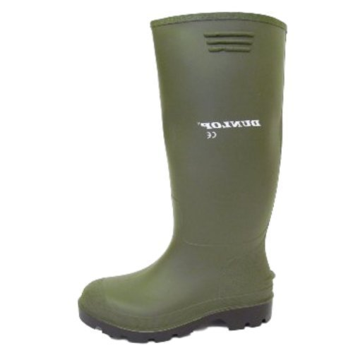 Dunlop - Botas de agua hombre Verde (verde)