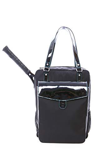 - Cortiglia Brisbane Black Tennis Bag