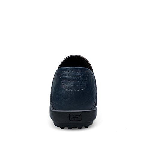 40 Uomo Blu LH8008A Blue Minitoo Dark LHEU Mocassini x0OxwRH