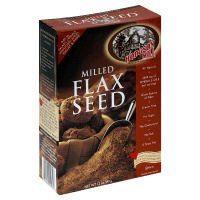 Hodgson Mill, graines de lin blanchi Gf, 12 OZ