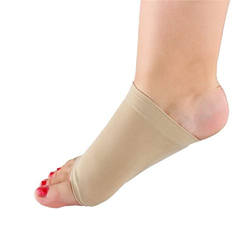 Compression Arch Support Sleeves Sock Foot Heel Pain Relief Plantar Fasciitis Insole Pads & Arch Support Shoes Insert Set of 2