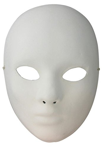 Artemio Face Plaster Mask to Decorate 14030003