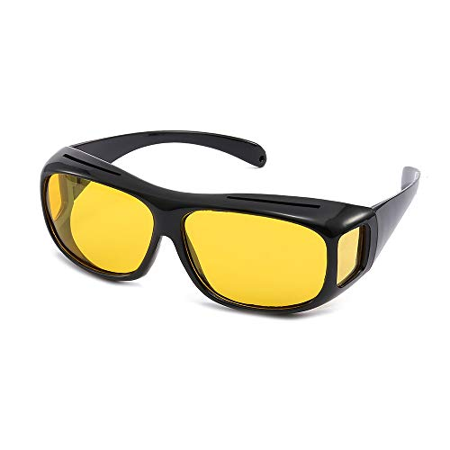 Unisex UV400 HD Vision Driving Sunglasses Wrap Around Glasses Anti (Best As Seen On Tv Night Vision Goggles)
