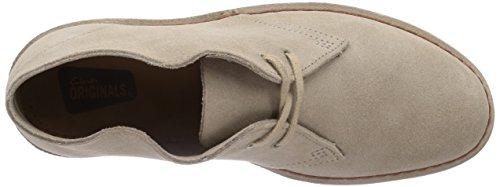 Dames Clarks Originals Derby Chaussures Richelieu À Lacets Beige (sable)