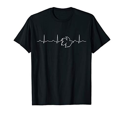 Betta Fish Heartbeat Shirt, Funny Cute Pet Owner Gift (Betta Fish T Shirt)