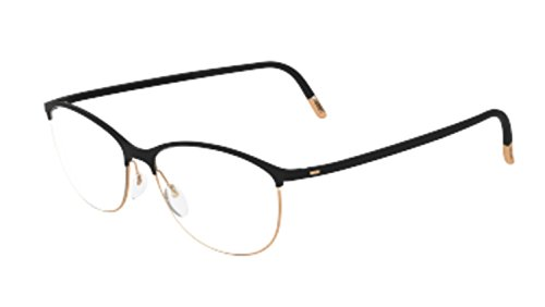 - Eyeglasses Silhouette Urban Fusion Full Rim 1574 6050 black 53/16/145 3 piece fr