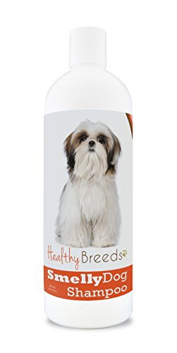 Healthy Breeds Smelly Dog Deodorizing Shampoo & Conditioner with Baking Soda for Shih Tzu - Over 200 Breeds - 8 oz - Hypoallergenic for Sensitive Skin