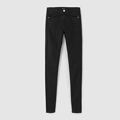 tom-tailor-womens-coated-trousers-black-size-us-30w-fr-40