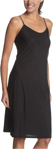 Only Hearts Women's Second Skin Chemise 23-25 Inch - 6169,Black,Medium/Large - Only Hearts Slips