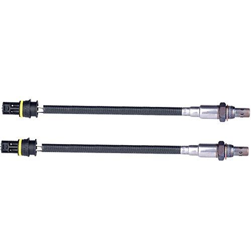 ROADFAR O2 Oxygen Sensor Upstream Downstream Sensor 1 Sensor 2 Front Rear Replacement fit for BMW 330Ci 330xi 330xi 328i 328Ci 318is 318i 318ti X3 Z4 X5 Z3 750iL 850Ci