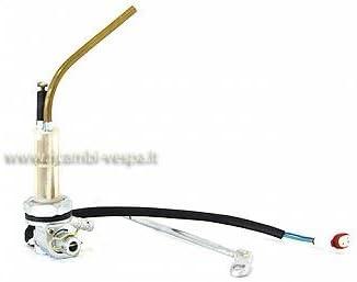Rubinetto benzina con passaggi maggiorati fastflow e contatto elettrico per riserva