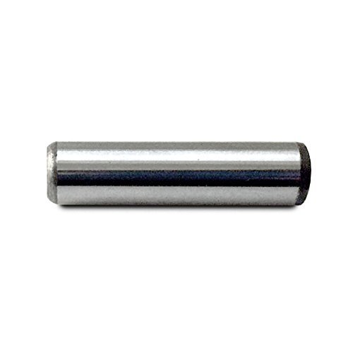 Heat Treated Alloy Steel for Extra Hardness Pack of 25 Perfect for Woodwork 5//32 x 3//4 GILLIEM Dowel Pins for Precision Alignment Machinery and More 130,000-PSI Shear Strength