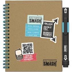 Bulk Buy: K&Company (3-Pack) SMASH Mini Folio 5.5in. x 7.5in. 3D - Mini Folio