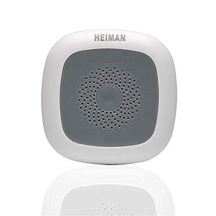 heiman SmartHome Wireless Termómetro/Wi-Fi Sensor de Temperatura/higrómetro/Monitoring de