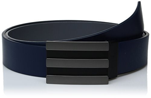 adidas Golf Men's 3-Stripe Reversible Belt, St Dark Slate Vista Grey S15, One Size (Golf Taylormade Belt)