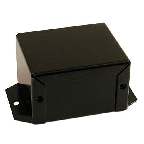 BOX ALUM BLACK 6.99''L X 4.99''W, (Pack of 25) (1411FBQBK)
