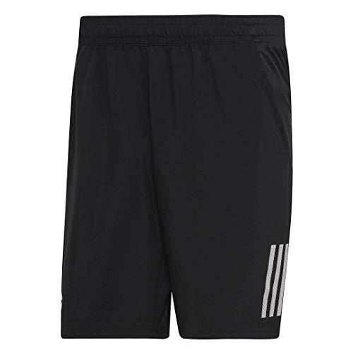 Adidas Casual Shorts - adidas Men's Club 3-Stripes 9-Inch Tennis Shorts, Black/White, Small