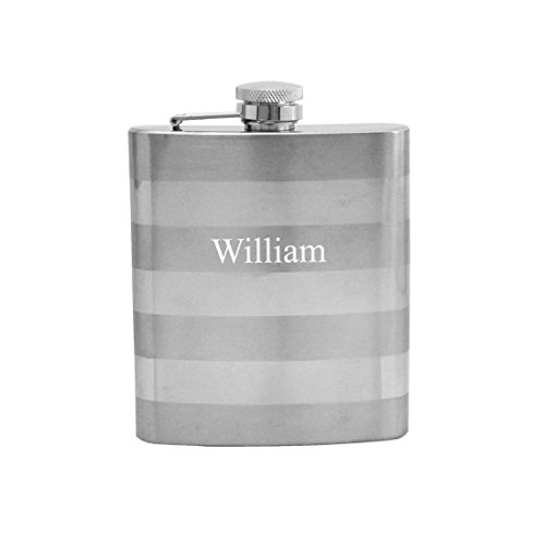 Gifts Infinity Personalized 8oz Duo Two-Tone Stainless Steel Groomsman Flask - Engraved