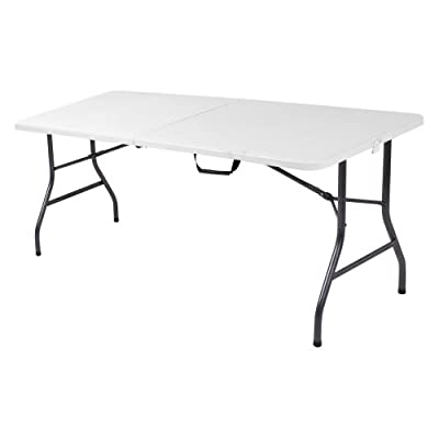Cosco Products Centerfold Folding Table, 6-Feet