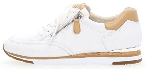 bianco 84 Bianco 21 Eu 41 Sneaker Donna 323 Gabor Bianco 0qwpXd0