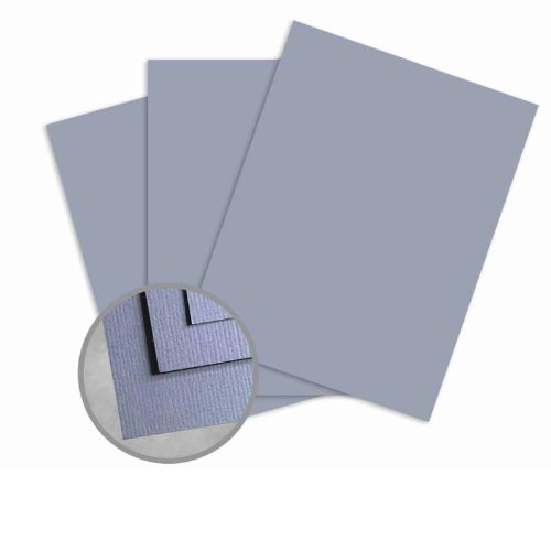 Treasures Periwinkle Card Stock - 12 x 12 in 80 lb Cover Textured 25 per Package (Treasures Cover Cardstock Lb 80)