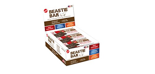 Beef Dog Treat - Usa Farmed - Natural - 20 Pieces - Beastie Bar - Kettle Creek Farms By Spot / Ethical Pets