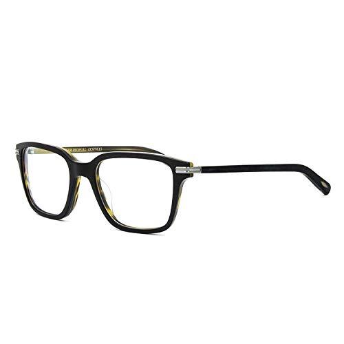 liver Peoples OV5270U - 1453 Stone Eyeglasses Semi Matte Black Olive Tortoise ()