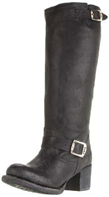FRYE Women's Vera Slouch Knee-High Boot, Black, 6.5 M US