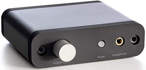 HWZDQLK 24-Bit DAC, Premium Desktop Digital to Analogue Converter and Headphone Amplifier
