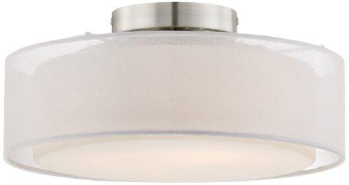 Opal White Dual Shade 12 1/2