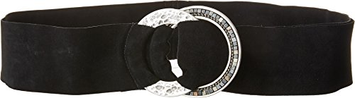 Leatherock Women's Jessa Belt Black XL (38'' Waist) by Leatherock