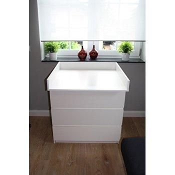 2 XWickelaufsatz Wickeltischaufsatz für IKEA Malm, Brusali, Mandal Kommode.  NEU!