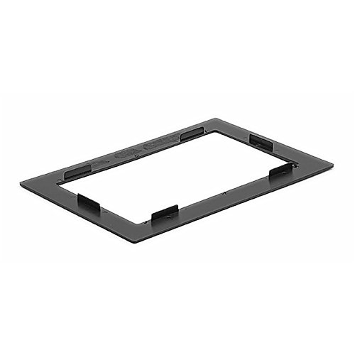 CARAV 11-440 2-DIN Marco de pl/ástico para Radio para Universal Frame for 2-DIN Installation 173 * 98//212 * 138 mm