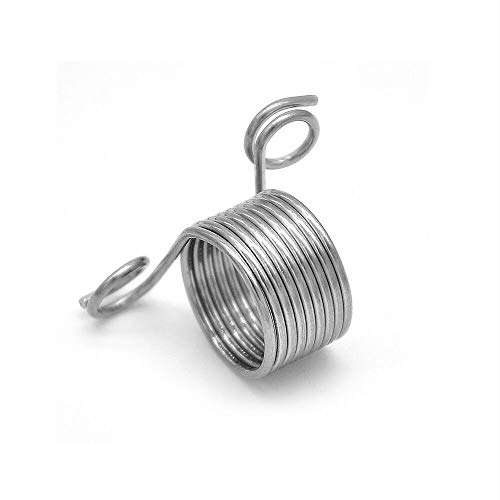 MOPOLIS Braided Knitting Ring Finger Thimble Tool Yarn Needle Guide Sewing Accessory DIY   Size - S
