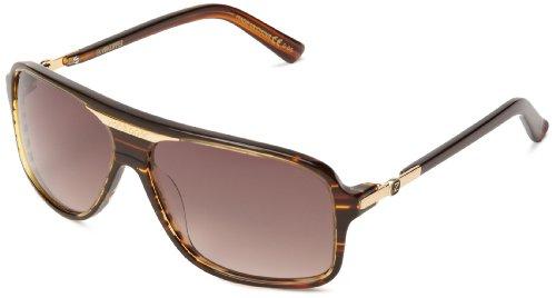 VonZipper Stache Square Sunglasses,Tortoise,One - Stache Sunglasses