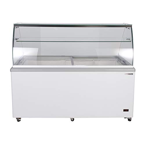 Maxx Cold 12 Flavor 20 cu ft Commercial Ice Cream Dipping Cabinet Freezer ()