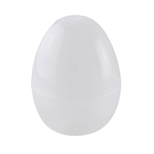 Dds5391 Small and Cute Children's Toys 10Pcs Easter Eggs Empty Fillable Egg Kid Gift Toy Simulation DIY Decoration White ()