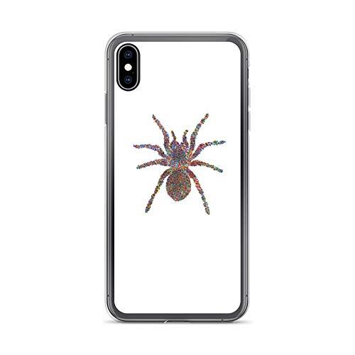 iPhone Xs Max Case Anti-Scratch Creature Animal Transparent Cases Cover Tarantula Animals Fauna Crystal Clear