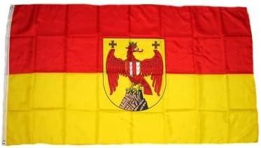 Fahne Flagge /Österreich Vorarlberg 30 x 45 cm